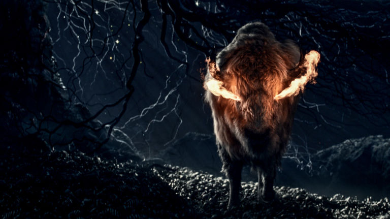 american gods série STRZ dieu bison
