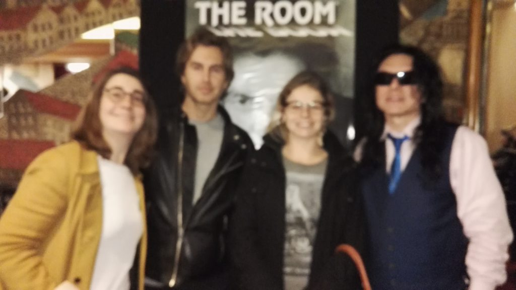 the room photocall tommy wiseau greg sestero leeloo rocks