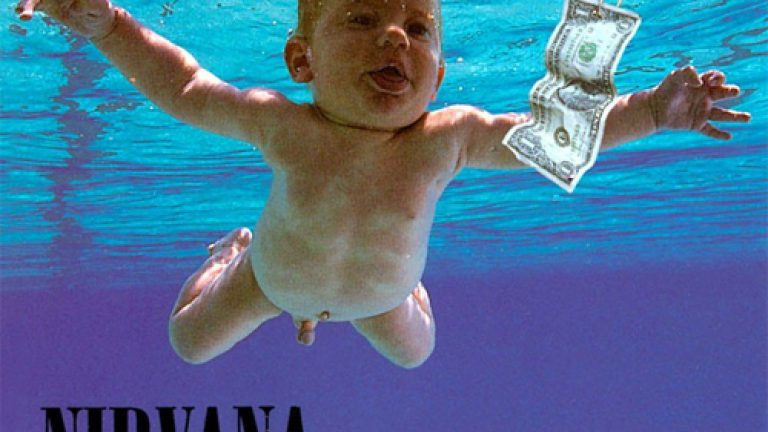cover album nirvana nevermind