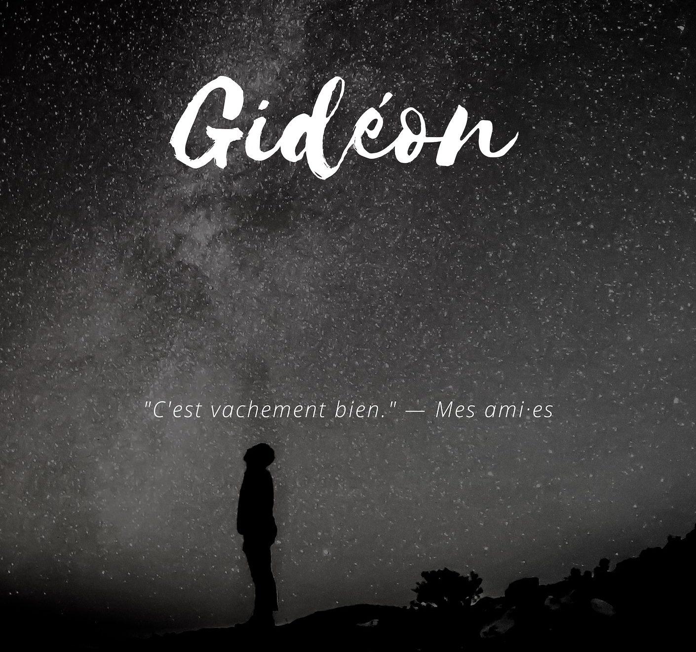 couverture du roman Gidéon de Hélène Trouvé